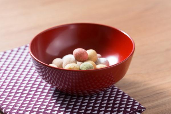 木曽漆器の小鉢